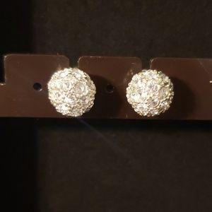 2/$20 Sterling Silver Ball Earrings